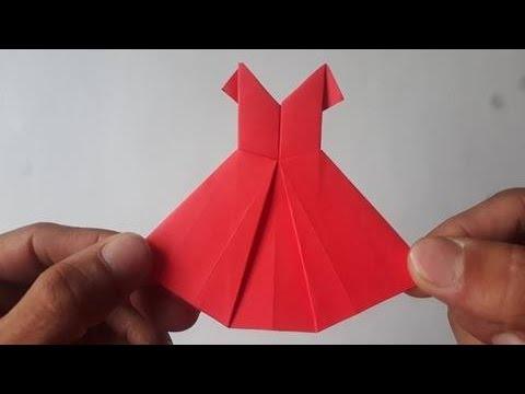 Vestido De Papel Origami Audio Español