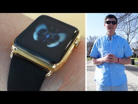 Thumbnail: I wore the $17,000 Gold Apple Watch