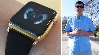 I wore the $17,000 Gold Apple Watch