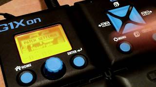 Zoom G1xon detailed Tutorial