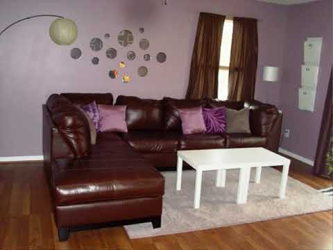 Best Purple And Tan Living Room