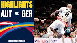 Austria vs Germany Highlights Day 12 Men s EHF EURO 2020