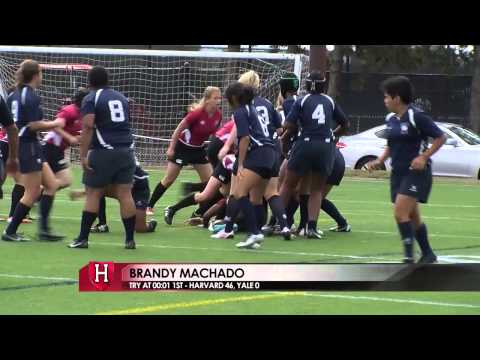 Harvard Women's Rugby Highlights vs. Yale