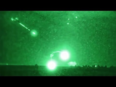 Firefight At Night - Afghanistan