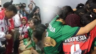 Menpora Imam Nahrawi Beri Dukungan Langsung Tim Sepak Takraw Putri Indonesia