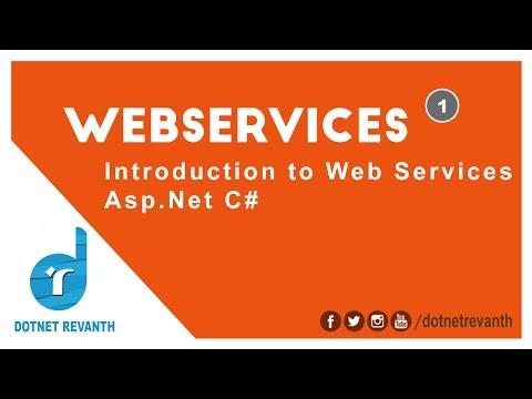 Introduction To Web Services Asp.Net C# || Part-1