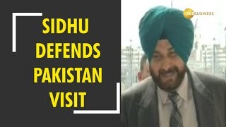 Sidhu defends Pakistan visit, says will remember the visit all his life