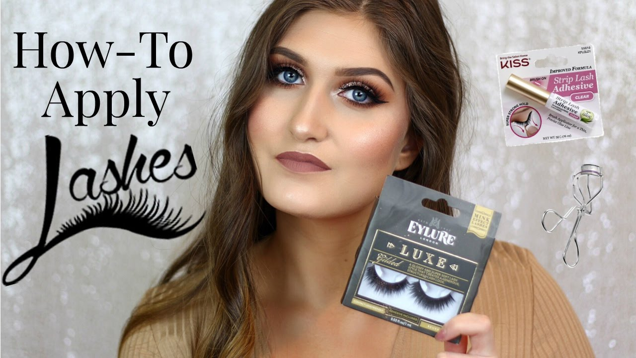 04d89e7ec10 How To : Apply Lashes + Lots of Lash Options - YouTube