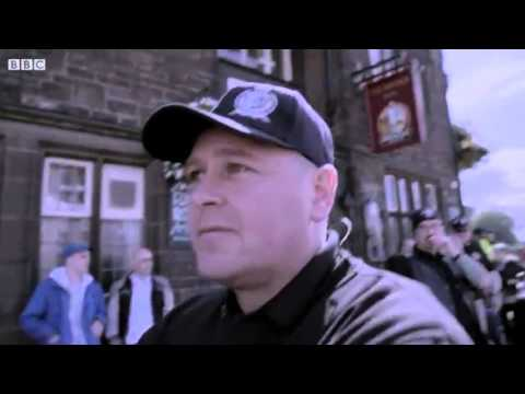 Britain First Leaders Bodyguards Get Nasty.