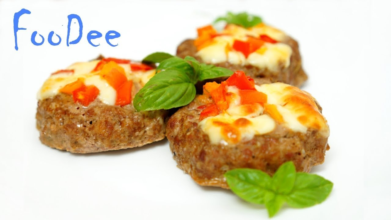 Вкуснейший ужин из говяжьего фарша ☆ Мясные гнезда с сыром и помидорами