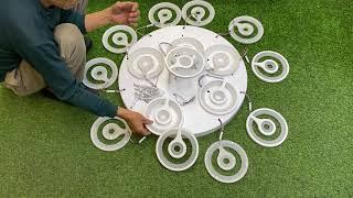 Hướng dẫn lắp đặt Đèn LED ốp trần chất lượng cao - Đèn Led Chính Hãng Giá Cả Tốt