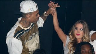 Chris Brown Cheated On Rihanna With Mystery Blonde?!
