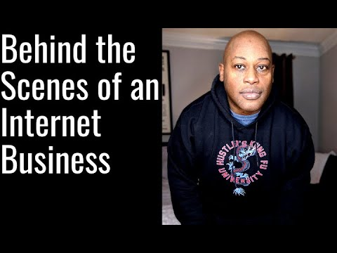 Behind the scenes of an internet Business