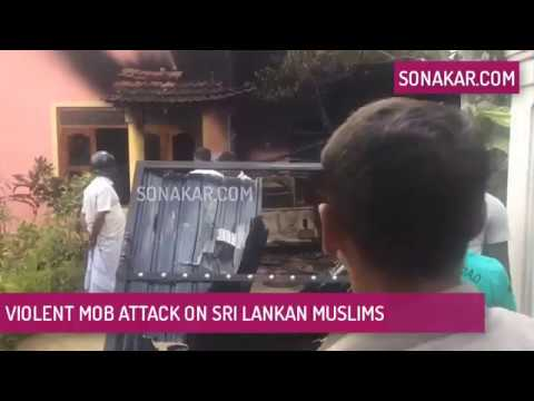Violent mob attack on Sri Lankan Muslims (Nov 2017)