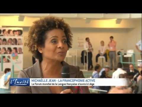 """Michaëlle Jean : """"J'appelle la jeunesse francophone à la résistance"""""""