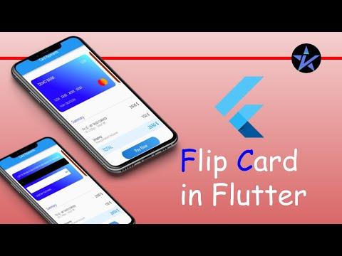 Flutter Flip Card - Flip Animation in Flutter App