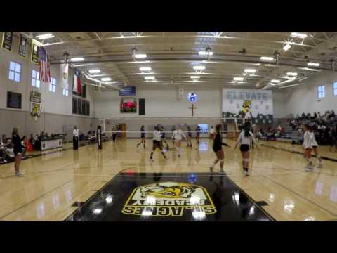 St. Agnes Academy vs. Monsignor Kelly Catholic High School - Set 2 of 3
