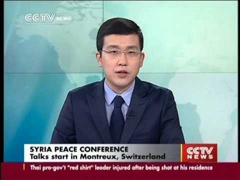 Syria peace conference: Chinese Foreign Minister Wang Yi delivers speech