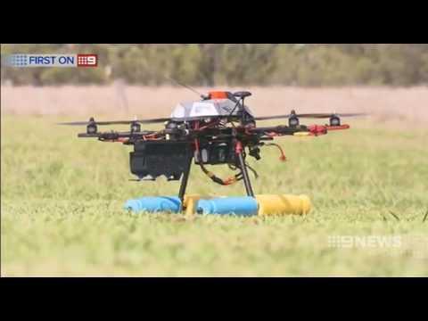 QUT and CSIRO host UAV Airborne Delivery Challenge – 9 News