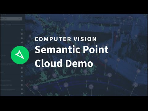 Semantic point cloud demo