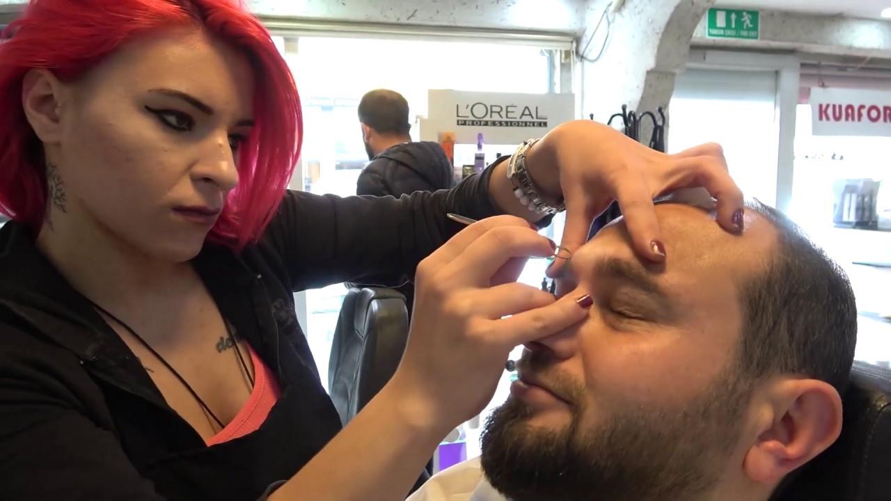 ASMR Turkish Barber Face, Head and Body Massage  251