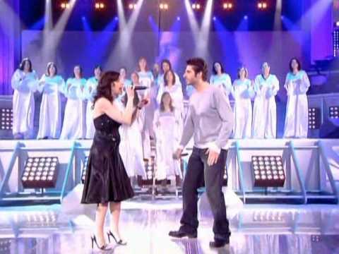 Tina Arena & Patrick Fiori - Dieu que c'est beau (Live @ Podium)