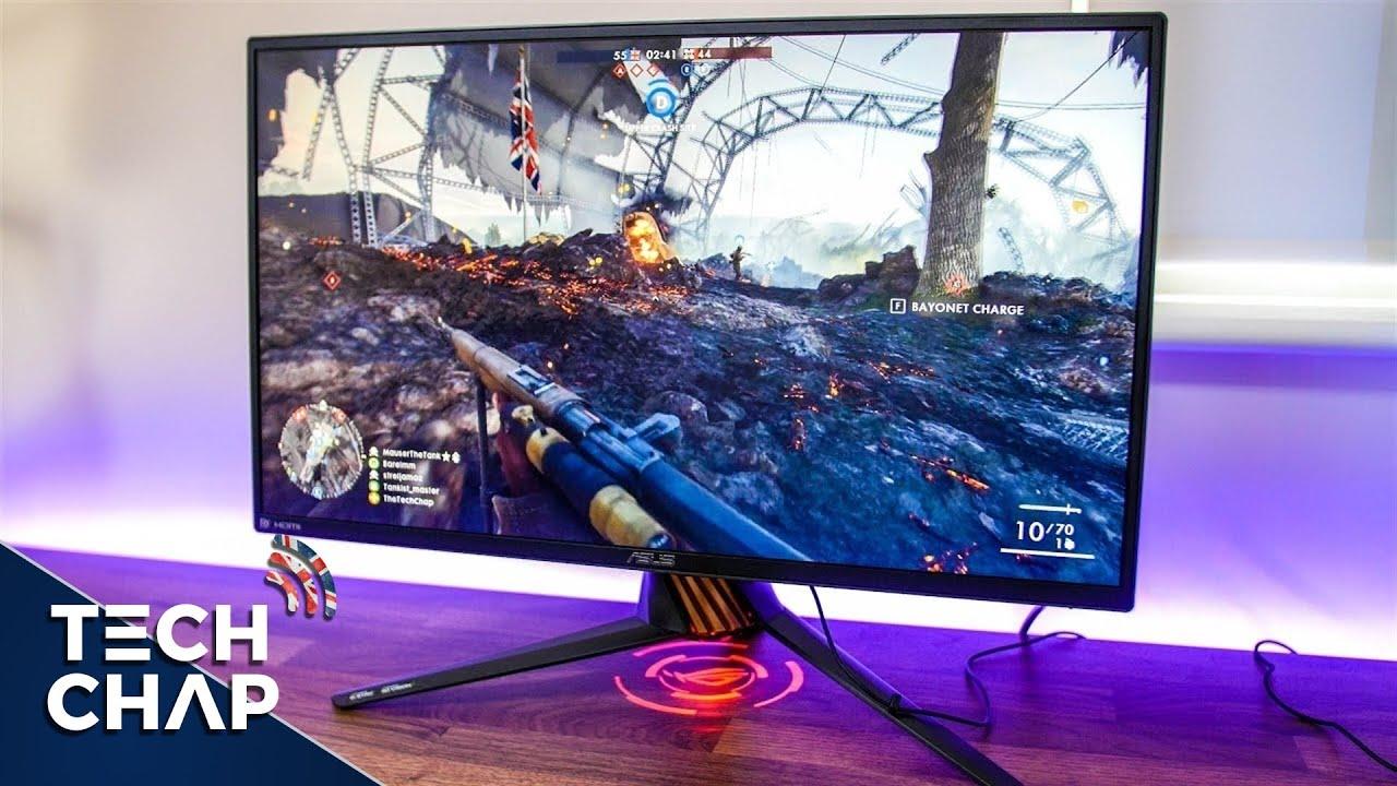 """ASUS ROG Strix XG248Q 23.8/"""" Full HD 1080p 240Hz 1ms Eye Care G-SYNC dual HDMI"""