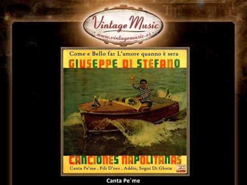 Giuseppe Di Stefano - Canta Pe´me (VintageMusic.es)