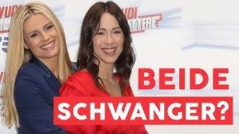 Michelle Hunziker und Tochter Aurora: Gleichzeitig schwanger?!
