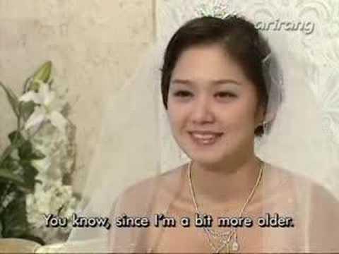 Wedding ~ Jang Nara on Star Focus Arirang TV 09112005