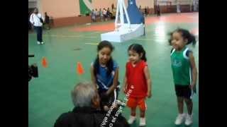Una niña en baloncesto la entrevista CORTV