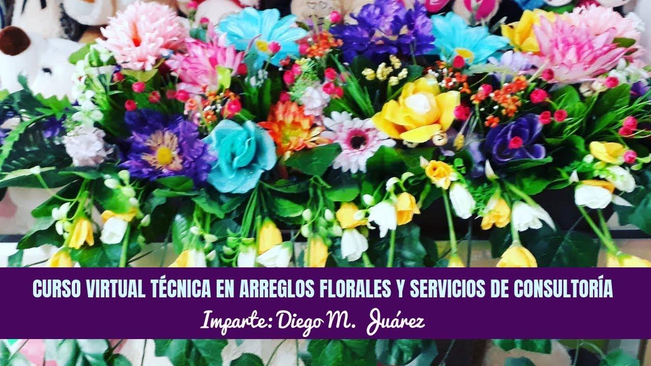 Curso Virtual Técnica En Arreglos Florales Y Servicio De Consultoría
