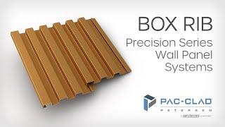 Box Rib - Precision Series Wall Panel Systems - PAC-CLAD