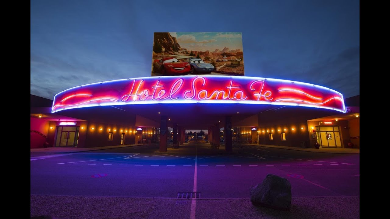 Camere Santa Fe Disneyland : Hotel disneyland paris disney s hotel santa fe tour dell hotel