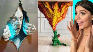 Creative LEGO inventions on another level