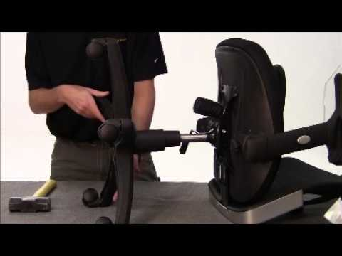 How To Remove And Replace A Chair S Gas Cylinder Youtube