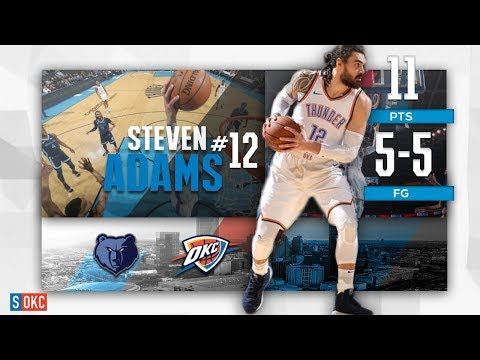 Steven Adams Provides 2nd Half Run by Scoring 11 Points | February 7th, 2019