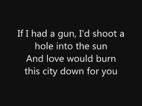 Noel Gallagher If I Had A Gun lyrics