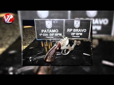 Jovem é detido com arma no bairro Nova Primavera em Volta Redonda