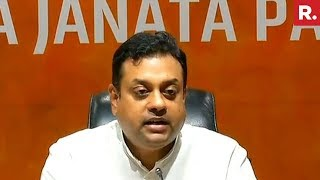 BJP's Sambit Patra Addresses Media Over #CongCashScandal