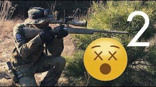 Airsoft Sniper Gameplay - Snajper Na Rosanowie 2 - Kaczmysz