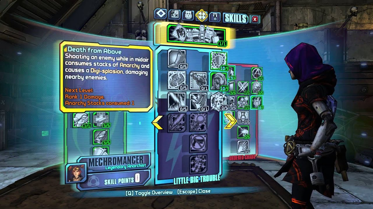 Borderlands Mechromancer Best Build