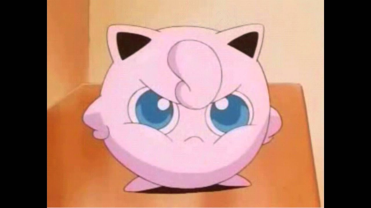 Wallpaper Pink Girl Cartoon Angry Jigglypuff Youtube