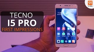 Tecno i5 Pro : First Look | Hands on | Launch
