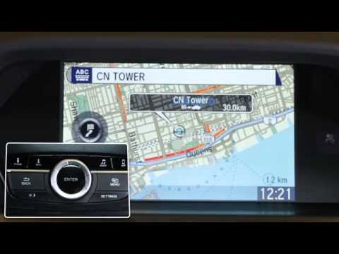 How to Use Acura's Navigation system