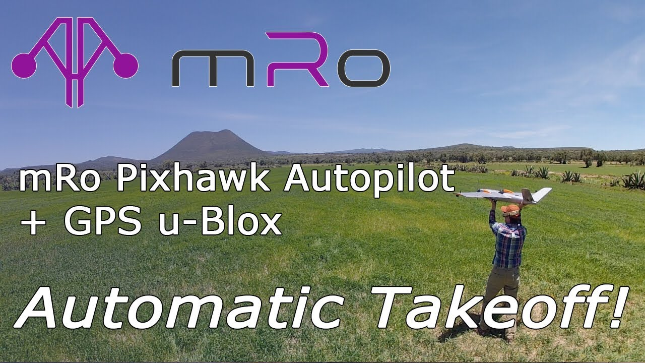 mRo PixHawk autopilot + GPS u-Blox for Mapping Platform [mRobotics Inside]