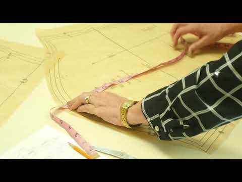 Sewing Lesson: Men's Shirt - Determining Alterations (2/5)