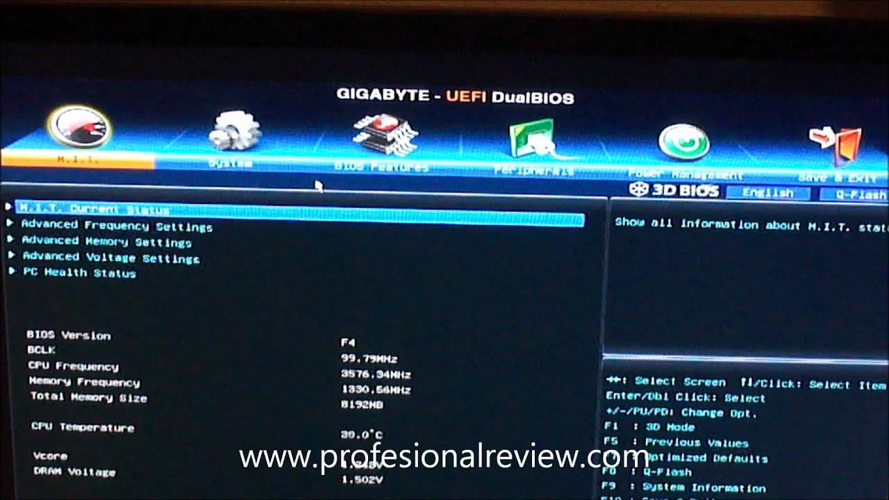 Gigabyte GA-Z77M-D3H Disk Mode Switch Descargar Controlador
