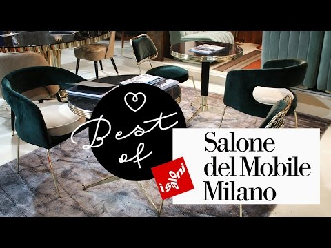 Best of SALONE DEL MOBILE 2017 in Milano | Interior Trends & Wohnideen ♡ Wohnklamotte