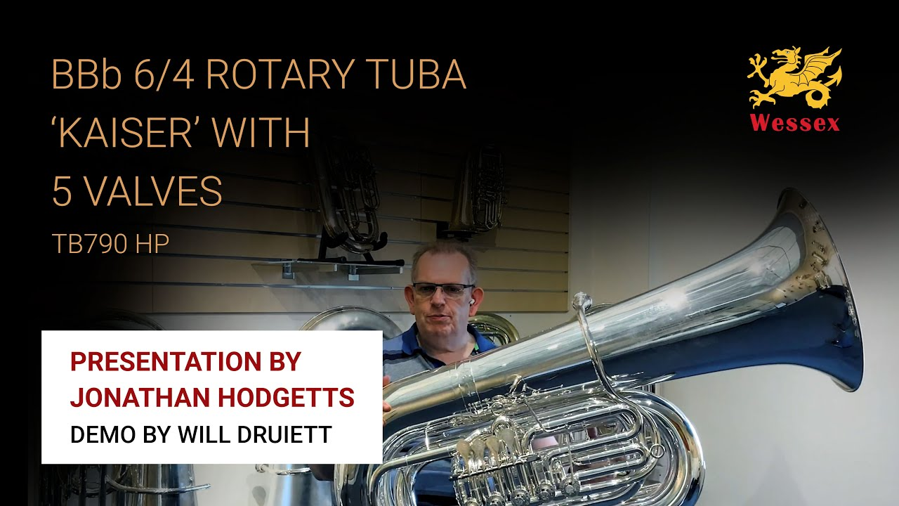 Presentation and demonstration of the BBb 6/4 Rotary Tuba 'Kaiser' With 5 Valves TB790HP
